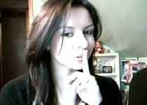 Meisje naakt voor webcam